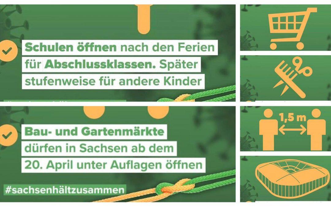 Neue Regelungen für Sachsen!