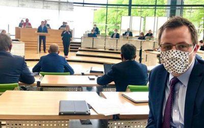 Premiere: Fragestunde im Landtag!