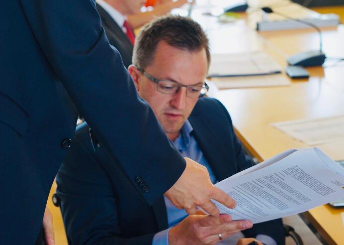Hauhalts- und Finanzausschuss tagt im Landtag