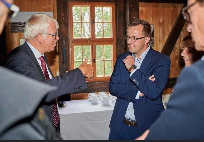 Finanzminister Vorjohann besucht Altbergbau