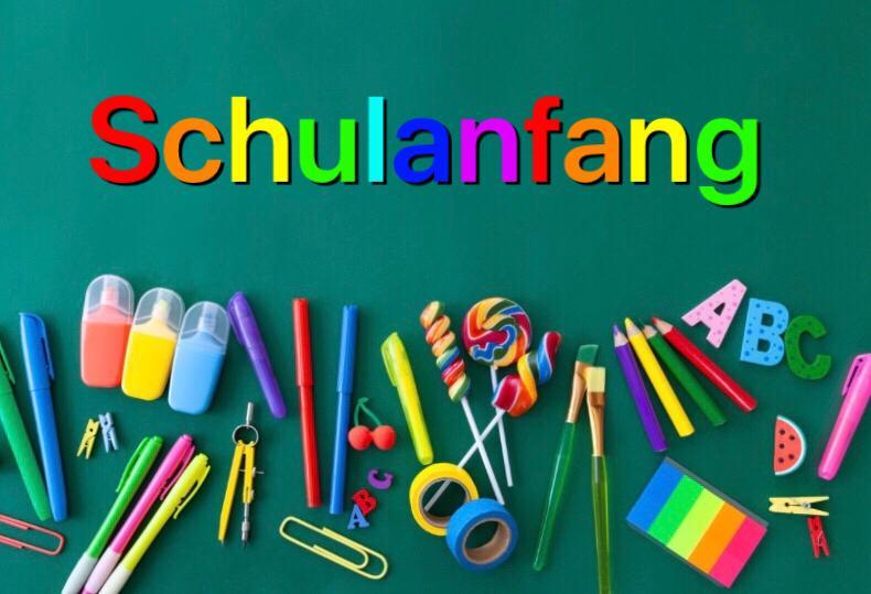 Schuleinführung in Sachsen
