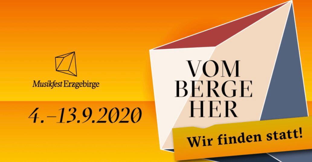 """Musikfest Erzgebirge """"Wir finden statt!"""""""
