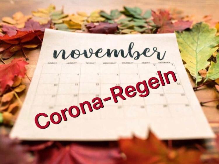 Bundeseinheitliche Corona-Regeln im November