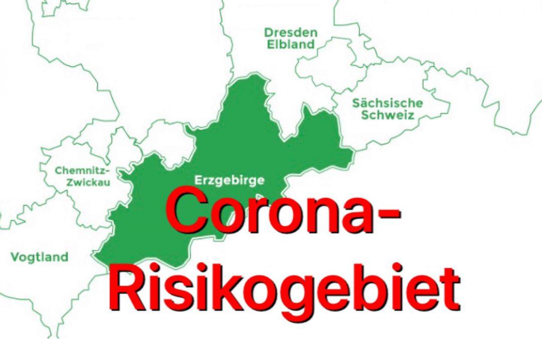 Erzgebirge Corona-Risikogebiet