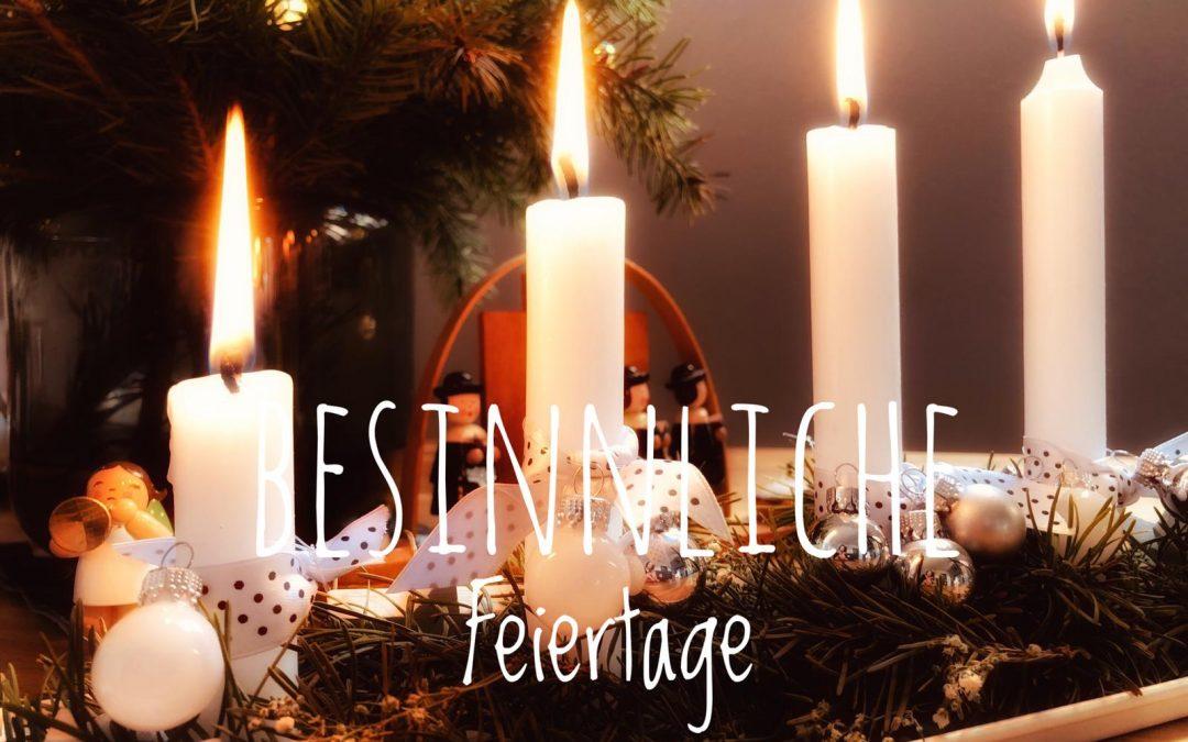 Wir wünschen einen schönen 4. Advent!