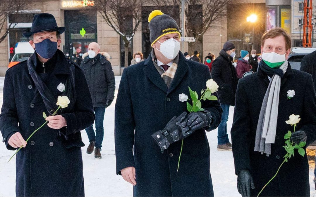 13. Februar – Virtuelle Menschenkette in Dresden