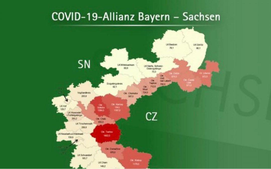 """""""Covid-19-Allianz"""" zwischen Bayern und Sachsen"""