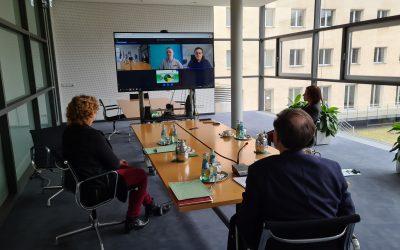 Digitale Live-Führung durch den Landtag