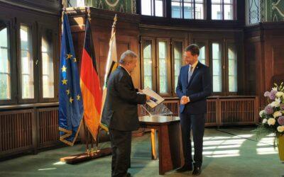 Bundesverdienstkreuz für Blasmusik-Größe Stefan Richter