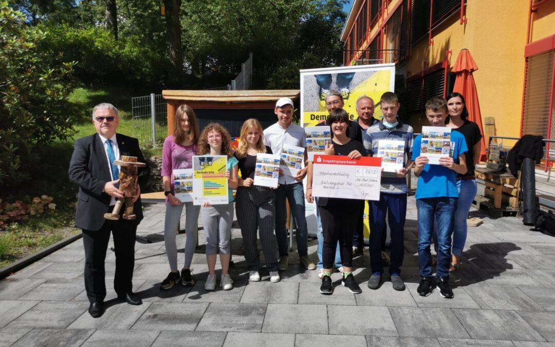 """Gewinner des Schülerwettbewerb """"Demokratie selbstverständlich?!"""" stehen fest"""