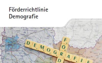 Sachsen fördert weiterhin Projekte zur Bevölkerungsentwicklung