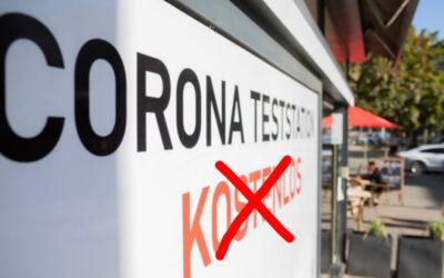 Ende der kostenlosen Corona-Tests